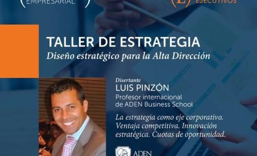 Club de Ejecutivos presenta Taller de Estrategia