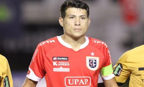 """Hernesto Caballero: """"En cada pelota damos la vida y en Gral. Caballero estoy cumpliendo mi sueño de jugar en primera"""""""