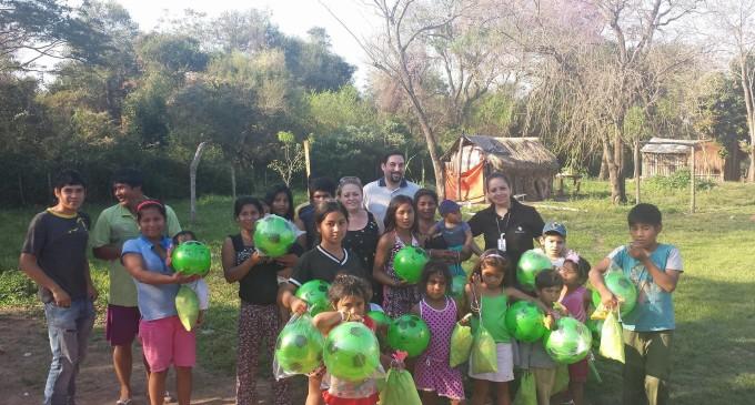 Fiscalía de Luque donó alimentos y juguetes para asentamientos indígenas