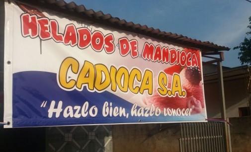 En Campo 9 estudiantes elaboran helados de mandioca