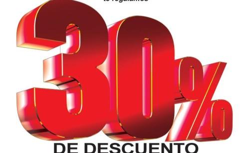 Farmacenter con 30% de descuento el 1 y 2 de setiembre
