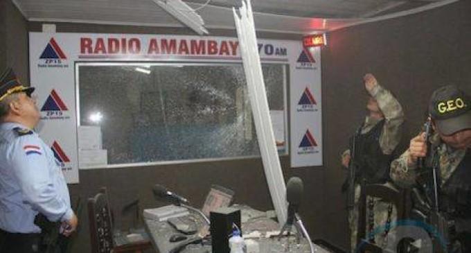 Repudian internacionalmente el atentado contra radio emisora
