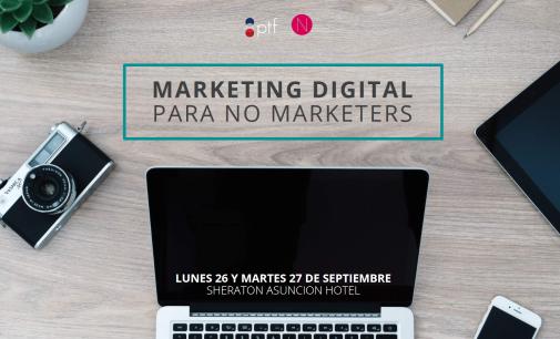 PTF ofrece Seminario de Marketing Digital para no Marketers