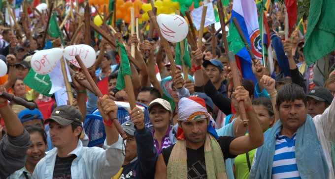 Desde hoy inicia la marcha campesina por el interior del país