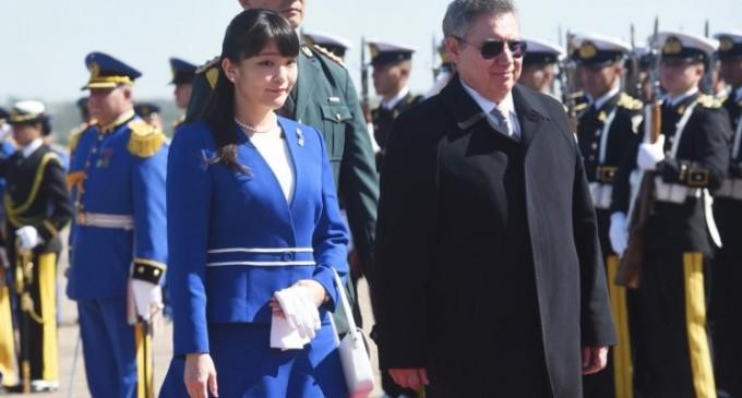 La princesa japonesa Mako se reúne hoy con Cartes