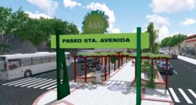 El transitado tramo de Quinta Avenida será revitalizado por la Comuna capitalina