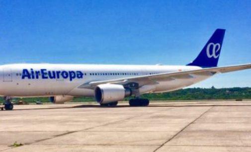 Air Europa inauguró esta semana su nueva ruta Asunción-Córdoba