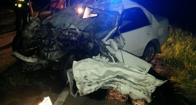 Cuatro integrantes de una familia fallecen en accidente rutero