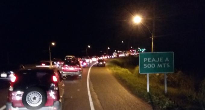 Ruta 2 será de sentido único el domingo, entre Caacupé e Ypacarai