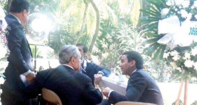 """Peña se acercó a Calé """"con una banderita blanca y manos arriba"""""""