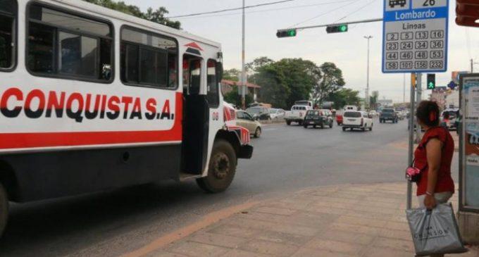 En enero operan menos buses