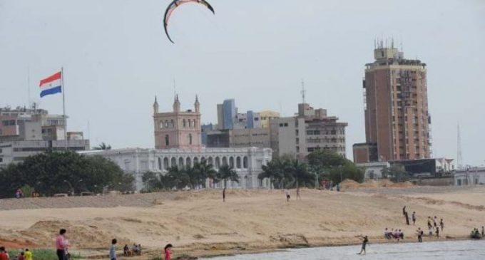 Playa de la Bahía de Asunción se encuentra inhabilitada para uso recreativo