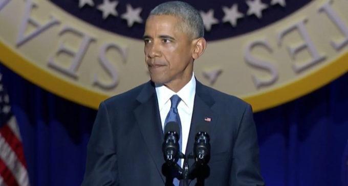 Barack Obama se despidió de su presidencia con un histórico discurso en Chicago