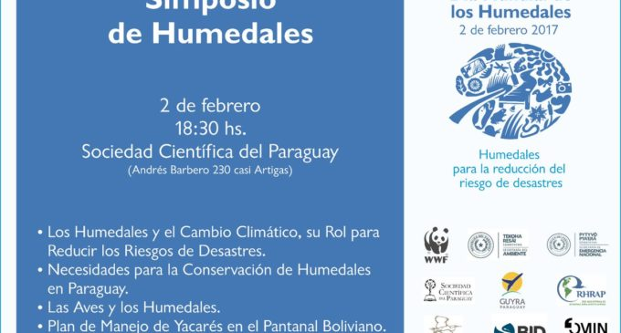 Desarrollarán simposio para la conservación de humedales en Paraguay