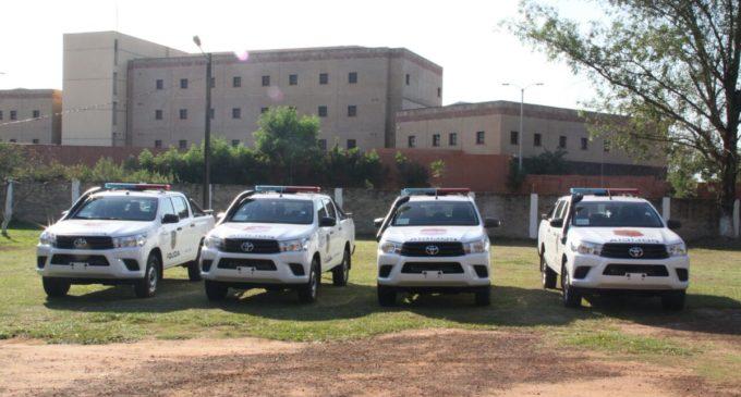 Ministerio del Interior entrega cuatro patrulleras al Departamento de San Pedro