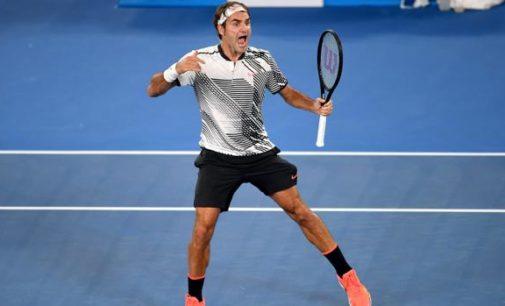 Roger Federer se sacó de encima a Kei Nishikori y es cada vez más favorito al título