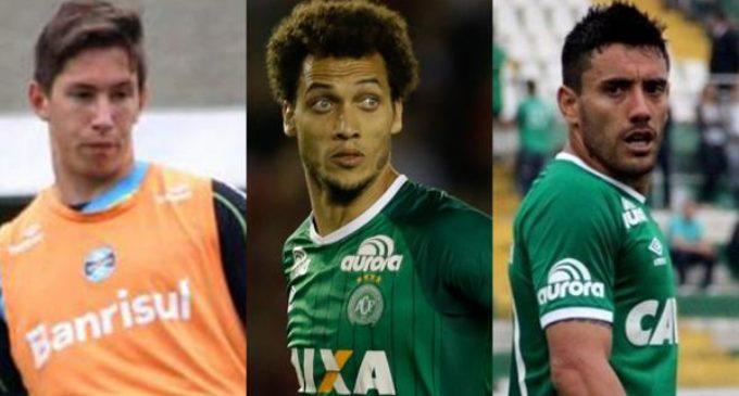 Chapecoense homenajeará a los tres futbolistas que sobrevivieron a la tragedia