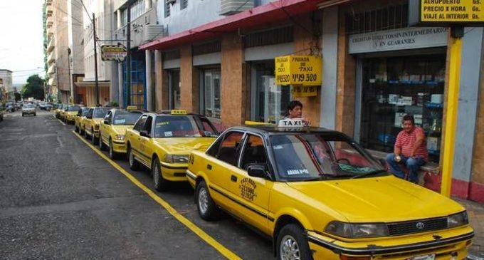 Taxistas de Asunción destacan gran movimiento de clientes durante la realización del Dakar