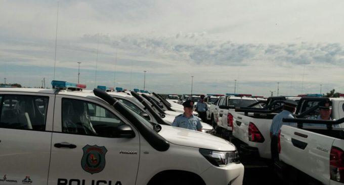 Entregan 100 nuevas patrulleras a la Policía Nacional