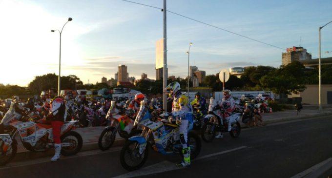 701 corredores desplazándose a Atyrá