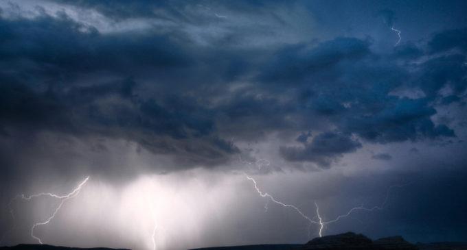 Emiten alerta meteorológica por tormentas y granizos