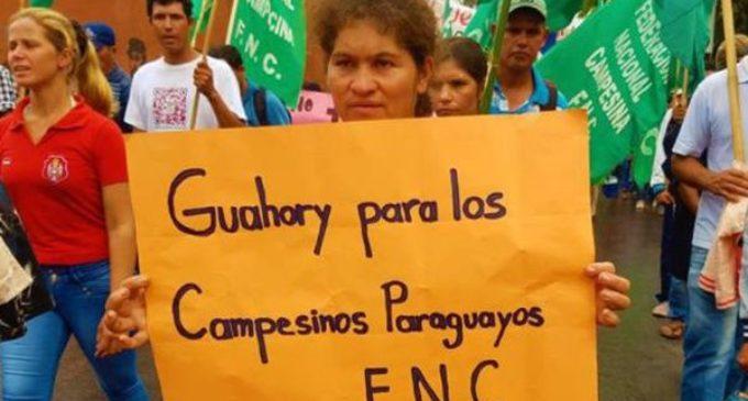 Campesinos de Guahory no aceptarán víveres del EPP
