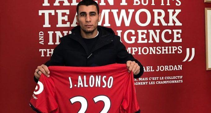Junior Alonso firmó por 4 años con el Lille Olympique Sporting Club de Francia