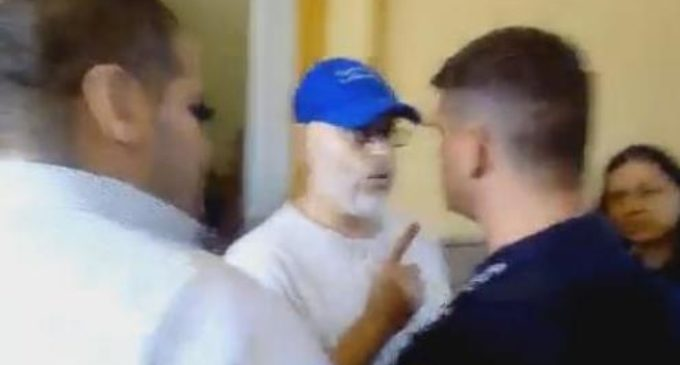 Paraguayo Cubas denunció persecución y atropelló sede policial