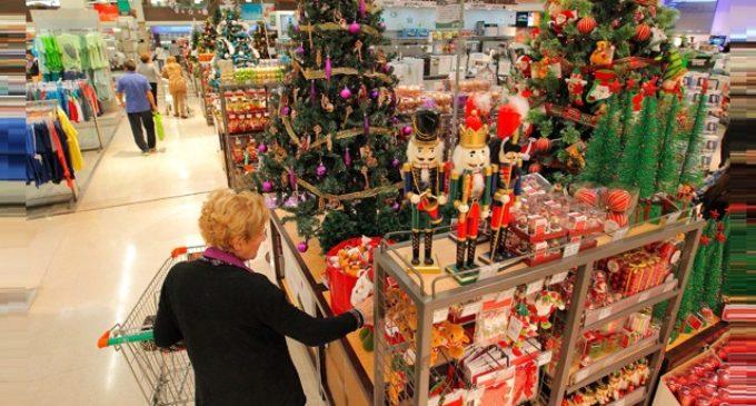 Productos navideños remontaron ventas en supermercados