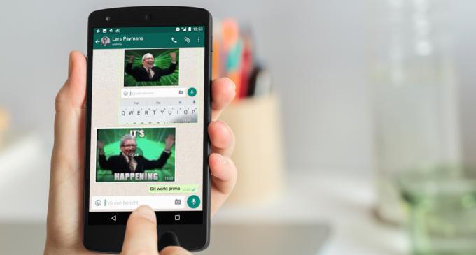 Cómo buscar y enviar GIF por WhatsApp sin salir de la app
