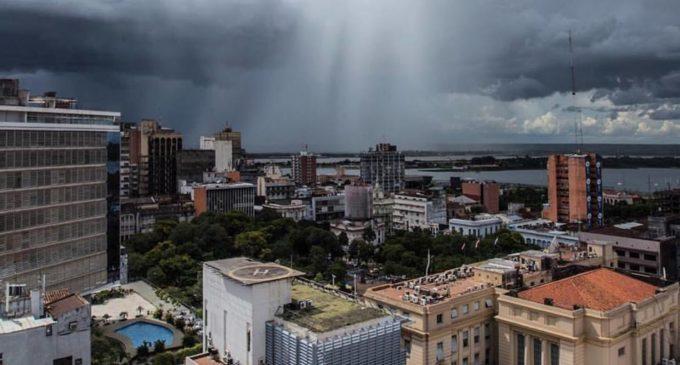 Lluvias puntuales en algunos puntos del país