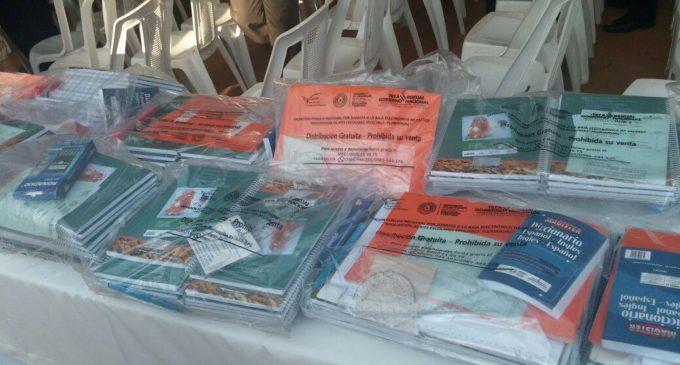 En los próximos días se completará la entrega total de kits