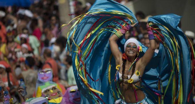 Arrancó el carnaval de Río de Janeiro
