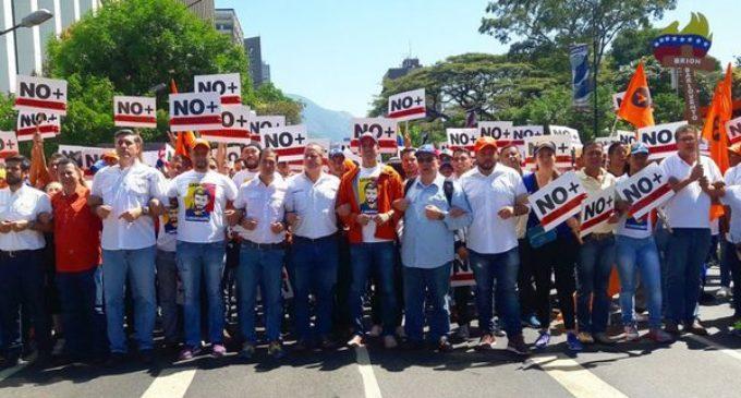Venezolanos salieron a las calles para exigir la liberación de Leopoldo López