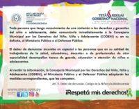 Secretaría de la Niñez resalta mayor conciencia de la ciudadanía sobre denunciar casos de abuso infantil