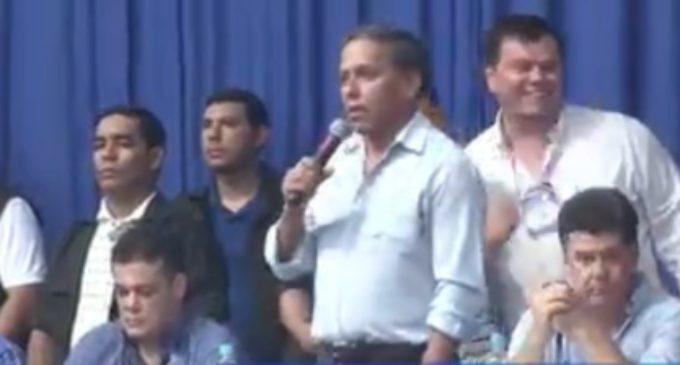"""""""Quienes proponen la reelección están al servicio de Horacio Cartes"""""""
