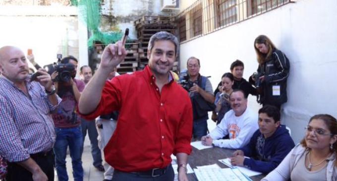 """Mario Abdo """"es un lujo para Paraguay y para el mundo"""""""