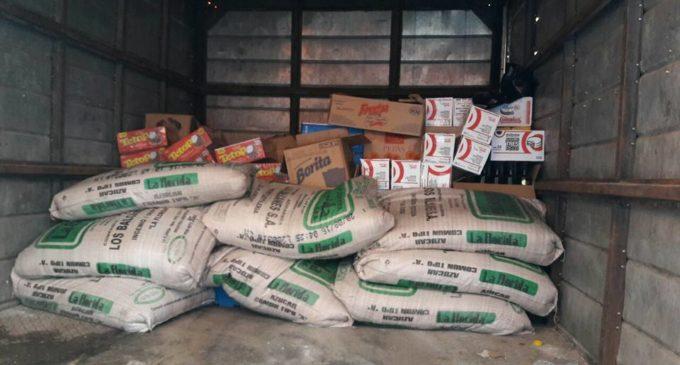 Incautan mercaderías de supuesto contrabando en Loma Pytá