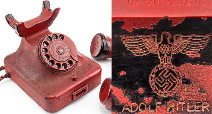 El teléfono subastado como 'de Hitler' sería falso