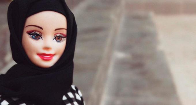 Diseñan velos musulmanes para muñecas barbies