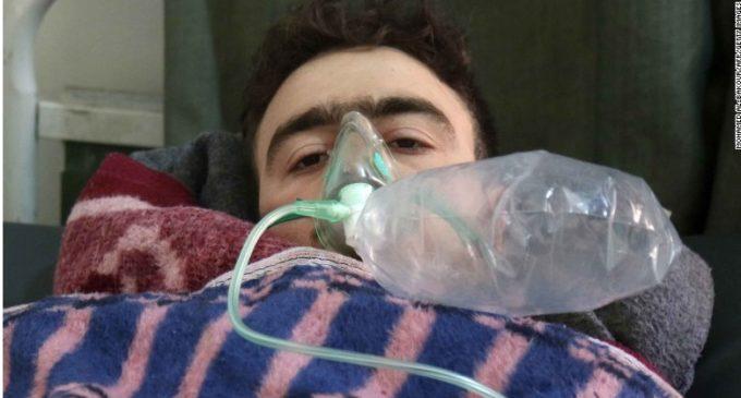 Decenas de muertos tras ataque con armas químicas en Siria