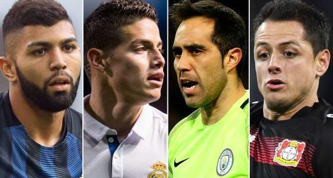 Los 10 jugadores latinoamericanos que decepcionaron esta temporada en Europa