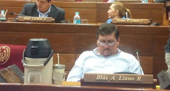 Amarilla denuncia amenazas de Blas Llano