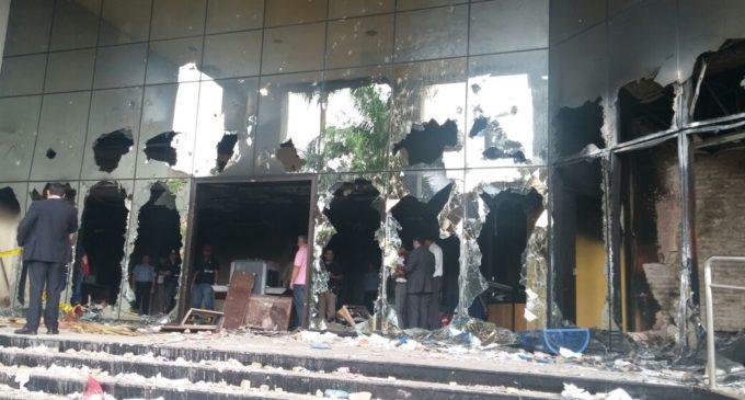 Incendio fue provocado, afirman agentes del Ministerio Público
