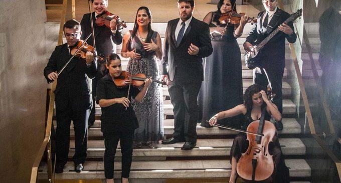 Presentación musical de la OSN en la Libroferia de Asunción