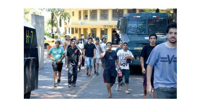 Fiscales liberaron a los 211 detenidos durante la manifestación