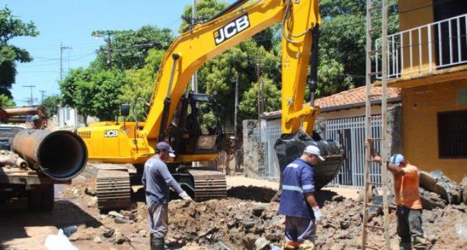 ESSAP se enfoca en continuar con trabajos de alcantarillado en Asunción y alrededores