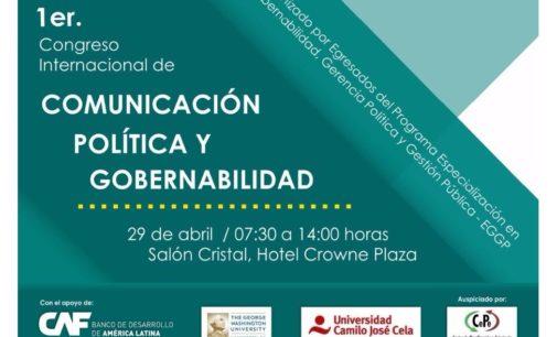 Se desarrollará Congreso Internacional de Marketing Político