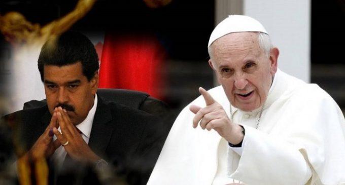 """El Papa urgió a evitar más violencia en Venezuela e instó a llegar a """"soluciones negociadas"""""""