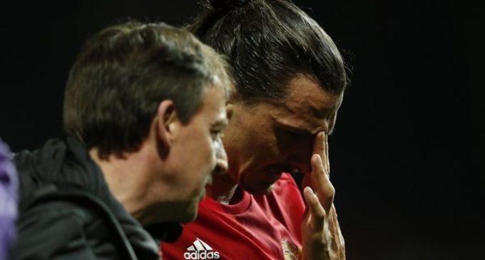 """La lesión de Ibrahimovic en la rodilla es """"significativa"""" y aumentan los rumores de su retiro"""